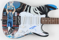 "Luka Doncic Signed 39"" Huntington Electric Guitar (PSA COA) at PristineAuction.com"