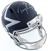Tony Romo Signed Cowboys Full-Size AMP Alternate Speed Helmet (PSA COA) at PristineAuction.com