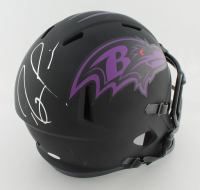 Ray Lewis Signed Ravens Full-Size Eclipse Alternate Speed Helmet (JSA COA) at PristineAuction.com