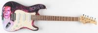 """David Bowie Signed 39"""" Fever Custom Guitar (PSA LOA) at PristineAuction.com"""