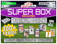 "Sportscards.com ""SUPER BOX"" ALL SPORTS ""PLATINUM EDITION"" Mystery Box -Series 8 at PristineAuction.com"