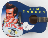 "Jim Carrey Signed 40"" Custom ""Ace Ventura"" Acoustic Guitar (PSA Hologram) at PristineAuction.com"