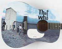 "Roger Daltrey Signed 40"" Custom ""The Who"" Acoustic Guitar (PSA Hologram) at PristineAuction.com"