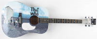"Roger Daltrey Signed 40"" Custom ""The Who"" Acoustic Guitar (PSA Hologram) at PristineAuction.com"