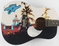 "Don Henley Signed 40"" Custom ""Hotel California"" Acoustic Guitar (PSA Hologram) at PristineAuction.com"
