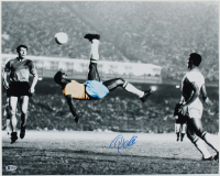 Pele Signed Team Brazil 16x20 Photo (Beckett COA) at PristineAuction.com