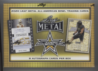 2020 Leaf Metal All-American Football Hobby Box (8) Autograph Cards Per Box at PristineAuction.com