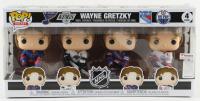 Wayne Gretzky Funko Pop Legends 4-Pack Figurine Set at PristineAuction.com