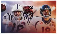 Peyton Manning Signed 3x5 Photo Card (JSA COA) at PristineAuction.com