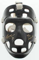 """Gerry Cheevers Signed Full-Size Throwback Goalie Mask Inscribed """"The Mask"""" (Schwartz COA) at PristineAuction.com"""