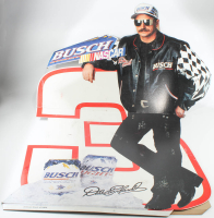 Dale Earnhardt NASCAR Busch Life-Size Cardboard Standup at PristineAuction.com