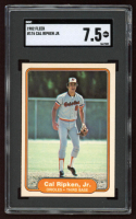 Cal Ripken 1982 Fleer #176 RC (SGC 7.5) at PristineAuction.com