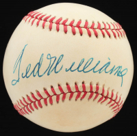 Ted Williams Signed OAL Baseball (JSA ALOA) at PristineAuction.com