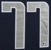 Luka Doncic Signed 32x39 Custom Framed Official On-Court NBA Jersey Display (Beckett COA) at PristineAuction.com