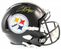 Cameron Heyward Signed Steelers Full-Size Speed Helmet (Beckett COA) at PristineAuction.com