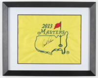 Arnold Palmer Signed Masters 16x20 Custom Framed Pin Flag Display (JSA LOA) at PristineAuction.com