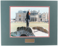 "Arnold Palmer Signed ""Farewell to St. Andrews"" 16x20 Custom Matte Photo Display (JSA COA) at PristineAuction.com"