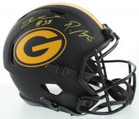 Preston Smith & ZaDarius Smith Signed Packers Eclipse Alternate Speed Full-Size Helmet (Beckett COA) at PristineAuction.com