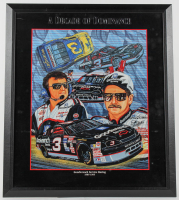"Sam Bass ""A Decade of Dominance"" 27x31 Custom Framed Print Display (PA LOA) at PristineAuction.com"