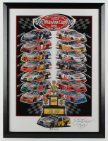 "Sam Bass ""Winston Cup Series"" 24x33 Custom Framed Print Display (PA LOA) at PristineAuction.com"