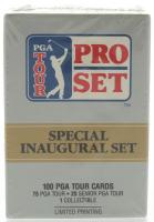 1990 Pro Set PGA Tour Special Inaugural Set of (100) Golf Cards at PristineAuction.com