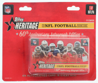 2015 Topps Heritage NFL Football 60th Anniversary Box at PristineAuction.com