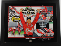 """Sam Bass Signed """"Won & Done"""" 27.5x35.5 Custom Framed Lithograph Display Inscribed """"2010"""" (PA LOA) at PristineAuction.com"""