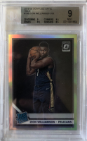 Zion Williamson 2019-20 Donruss Optic Holo #158 RR RC (BGS 9) at PristineAuction.com