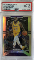 LeBron James 2019-20 Panini Prizm Prizms Silver #129 (PSA 10) at PristineAuction.com