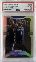 Zion Williamson 2019-20 Panini Prizm Prizms Silver #248 RC (PSA 10) at PristineAuction.com
