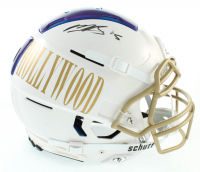 Marquise Brown Signed Full-Size Authentic On-Field F7 Helmet (JSA COA) at PristineAuction.com