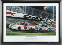 "Rene Tinsley ""Daytona Prophecy"" 23x31 Custom Framed Lithograph Display (PA LOA) at PristineAuction.com"