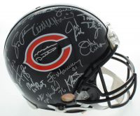 "1985 Bears Super Bowl XX Full-Size Authentic On-Field Helmet Team-Signed by (31) with Mike Ditka, Dan Hampton, Mike Singletary, Richard Dent Inscribed ""MVP XX"" & ""S.B. XX"" (Schwartz Sports COA) at PristineAuction.com"