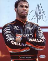 Bubba Wallace Signed NASCAR 8x10 Photo (Beckett COA) at PristineAuction.com