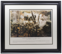 """Damn the Torpedoes, Full Speed Ahead"" 22x27 Custom Framed Photo at PristineAuction.com"