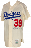 Roy Campanella Signed Dodgers Jersey (Beckett LOA) at PristineAuction.com