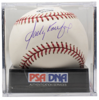 Sandy Koufax Signed OML Baseball with Display Case (PSA Hologram) at PristineAuction.com