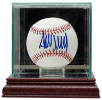 Donald Trump Signed OML Baseball with Display Case (PSA COA) at PristineAuction.com