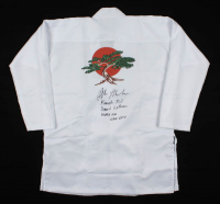 "Ralph Macchio Signed ""Karate Kid"" Gi Inscribed ""Karate Kid,"" ""Daniel LaRusso"" & ""Wax On Wax Off"" (Radtke COA) at PristineAuction.com"