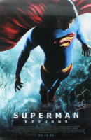 """Superman Returns"" 27x40 Movie Poster Signed by (6) with Brandon Routh, Kate Bosworth, Kevin Spacey, Bryan Singer, Sam Huntington, & Parker Posey (JSA ALOA) at PristineAuction.com"