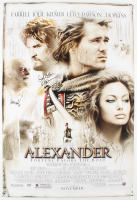"""""""Alexander"""" 27x40 Movie Poster Signed by (5) with Angelina Jolie, Colin Farrell, Val Kilmer, Jared Leto & Oliver Stone (JSA ALOA) at PristineAuction.com"""
