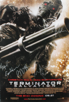 """Terminator Salvation"" 27x40 Movie Poster Signed by (5) with Christian Bale, Sam Worthington, Anton Yelchin, Moon Bloodgood & Bryce Dallas Howard (JSA ALOA) at PristineAuction.com"