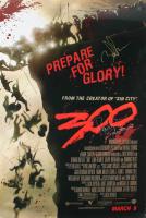 "Gerard Butler, Zack Snyder & Rodrigo Santoro Signed ""300"" 27x40 Movie Poster (JSA ALOA) at PristineAuction.com"