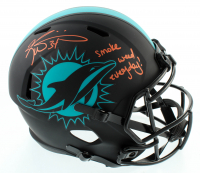 "Ricky Williams Signed Dolphins Full-Size Eclipse Alternate Speed Helmet Inscribed ""Smoke Weed Everyday!"" (Beckett COA) at PristineAuction.com"