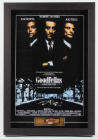 "Henry Hill Signed ""The Goodfellas"" 21x30 Custom Vintage Ice Pick Shadowbox Display with Movie Poster (JSA COA) at PristineAuction.com"