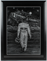 """Sam Bass Signed Goodwrench Service Racing """"Decade of Dominance"""" 25x32.5 Custom Framed Lithograph Display Inscribed """"2001"""" (PA LOA) at PristineAuction.com"""