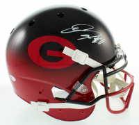Jake Fromm Signed Georgia Bulldogs Full-Size Authentic On-Field Hydro-Dipped Helmet (Beckett COA) at PristineAuction.com