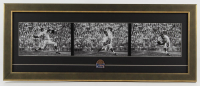 Sandy Koufax Dodgers 13.5x33.5 Custom Framed Photo Display with 1963 World Series Pin at PristineAuction.com