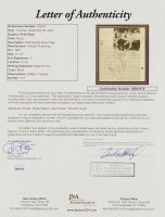 Roger Waters, Nick Mason, & Richard Wright Signed Pink Floyd 24.75x36.75 Custom Framed Book Page Display (JSA LOA) at PristineAuction.com