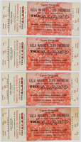 "Lot of (4) Vintage 1960 ""The Alamo"" Theater Tickets at PristineAuction.com"